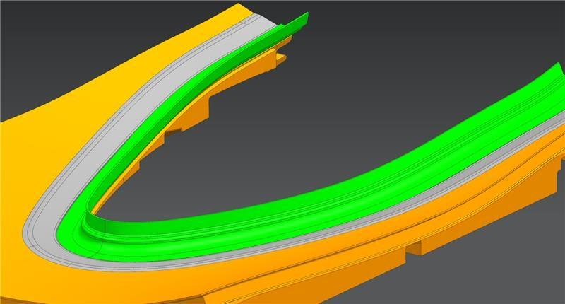 high-end gas turbine analysis services - novel composite seal