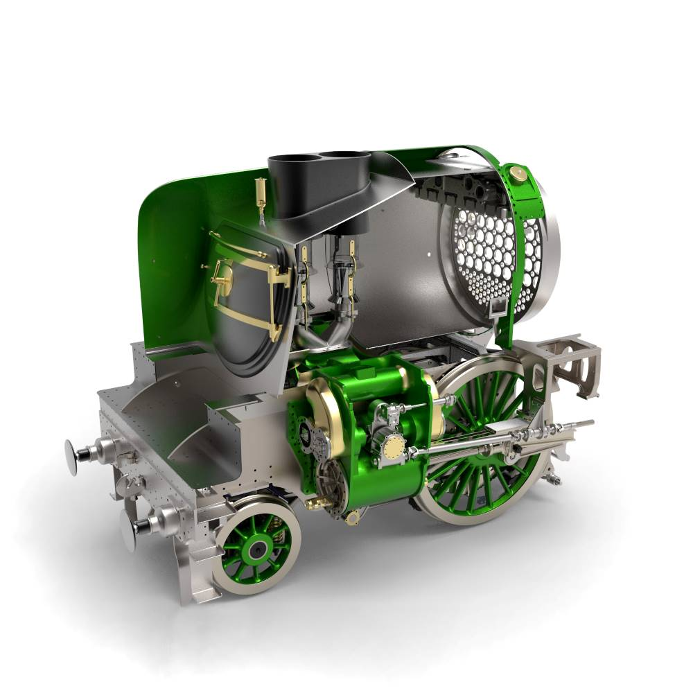 Latest News April 2021 - new-build P2 No. 2007 Prince of Wales steam locomotive