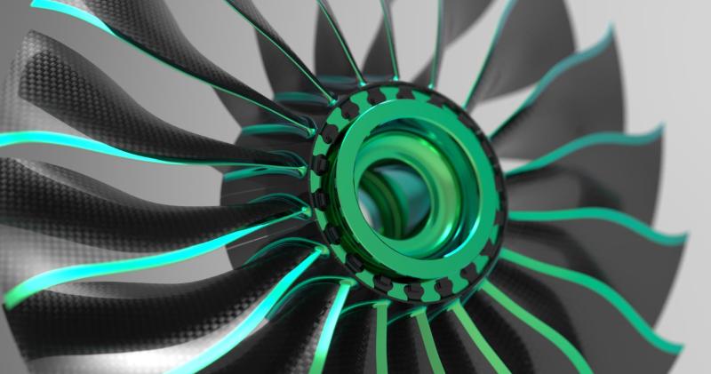 Composite turbine blades